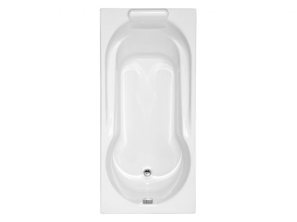 Baignoire Fibre De Pierre allibert baignoire essina ii 160x75cm blanc