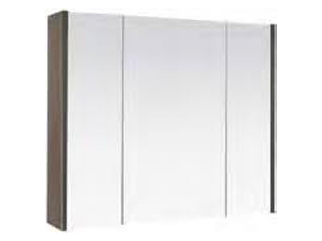 Hauteur Armoire De Toilette allibert accent+ armoire de toilette 80cm chene blanc