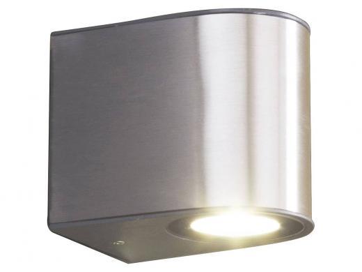 Applique exterieur led lutec gemini rond medium electricite
