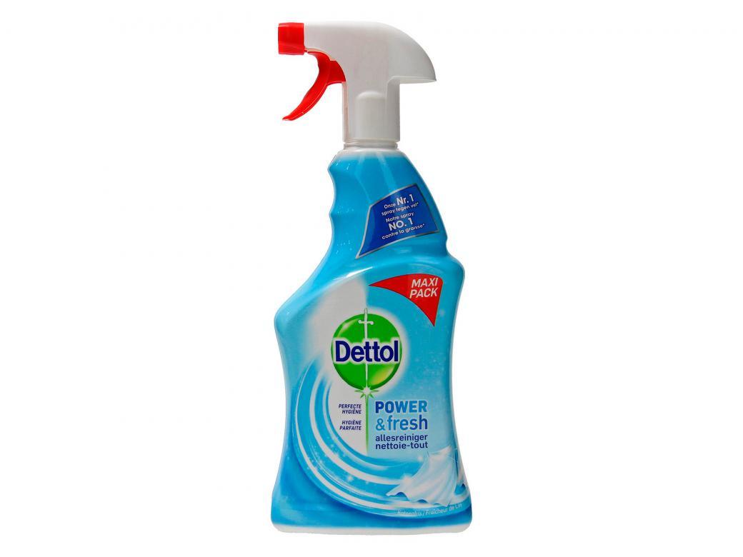 Produit Nettoyage Bardage Pvc dettol spray nettoyant multi-usage fraicheur de lin 750ml